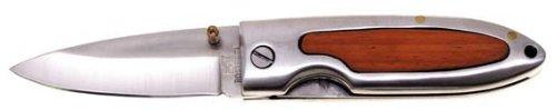 Fox Outdoor Klappmesser Einhand, Gürtelclip, L. 16 cm, Kl. 7 cm