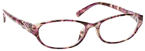 The Reading Glasses Company Pink Tortoiseshell Wrap Readers Designer Style Womens Ladies R69-4 +1.50