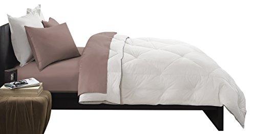 Pacific Coast Feather Company 67825 Premier Down Comforter, Cotton Cover, Hypoallergenic, Twin