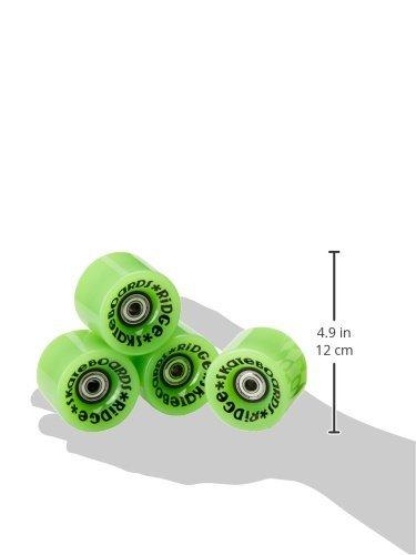 Ridge Skateboards Cruiser Skateboard Wheels - Green, 59 mm