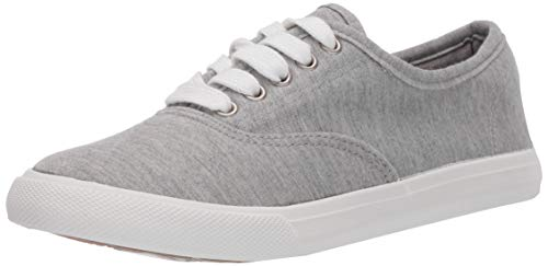 Amazon Essentials Women#039s LaceUp Sneaker Grey 95 Medium US