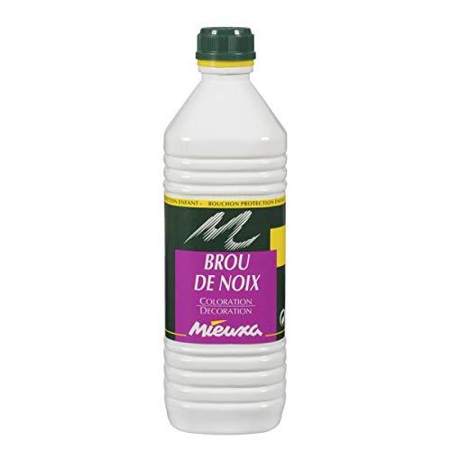 MIEUXA BROU DE NOIX A L'EAU FLACON 1L.