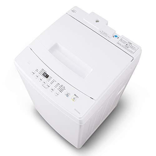 アイリスオーヤマ 洗濯機 8kg 全自動 ふろ水ポンプ付 部屋干しモード ステンレス槽 槽洗浄 ホワイト IAW-T802E