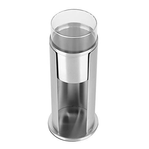 Bediffer Speziell entworfene Wattestäbchenbox Anti-Rost-Acryl klar Haltbar für Wattebäusche Make-up-Pads Kosmetik