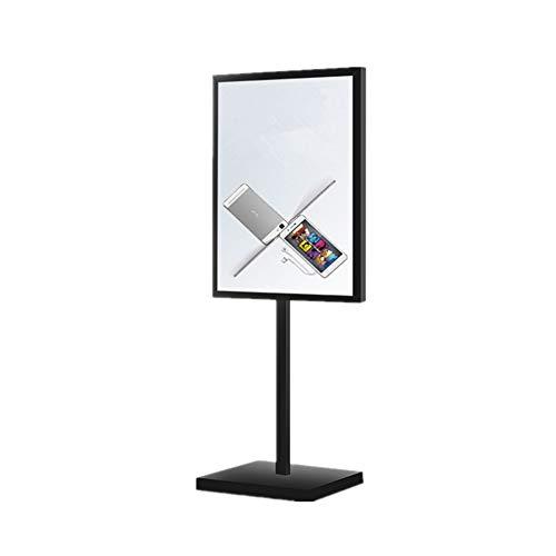 Jklt Display Stand Posters Vliegtuigen Landing Showcase Metalen Frame Voor Reclame Zakelijke Tekenen Outdoor Activiteiten (zwart) Gemakkelijk te gebruiken en op grote schaal gebruikt