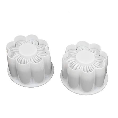New Lon0167 2 Pcs En vedette Blanc Fleur efficacité fiable De Prunier Forme Fondant Gâteau De Bonbons Pâte À Décorer Décoration Moule À Biscuits Cutter(id:43e 05 af e87)