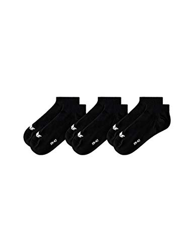 ERIMA Socken 3-Pack Füßlinge, schwarz, 43-46, 2181905