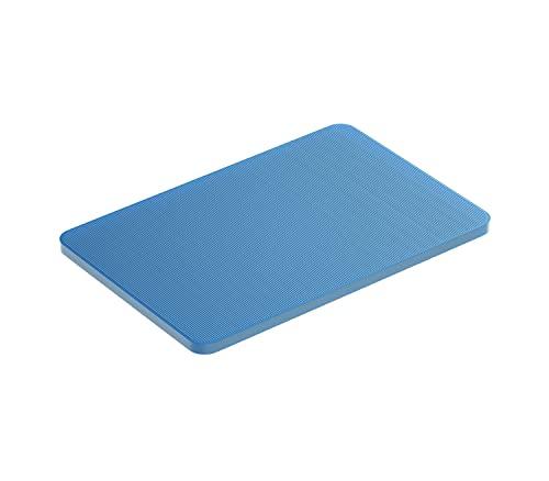 BAUHELD® Universal Unterlegplatten 60x40x 2mm [250 Stück] - Blaue Distanzplatten aus Kunststoff [Made in Germany] - Als Abstandhalter, Kunststoffplatte, Unterleger oder Verglasungsklötze geeignet