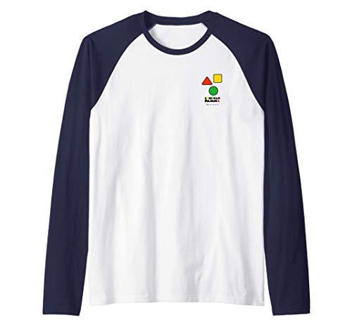 Pijama Crayon Shin-chan de un punto Camiseta Manga Raglan