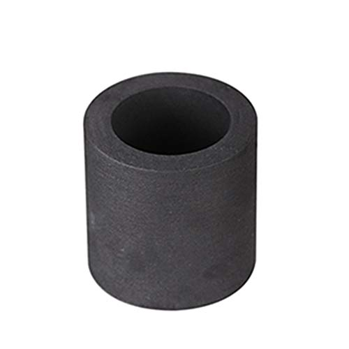 Kshzmoto Crogiolo in grafite di fusione ad alta purezza per strumenti di fusione di metalli ad alta temperatura in oro e argento