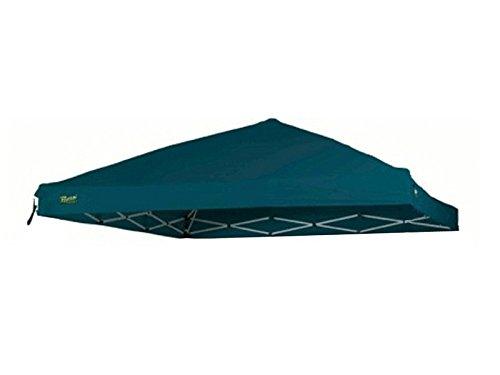 Cilvani Tetto Gazebo richiudibile 3x3mt Ricambio Tessuto Impermeabile (Verde)