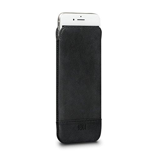 Heritage UltraSlim Leather Sleeve for iPhone 8 Plus / 7 Plus / 6s Plus / 6 Plus (Black)