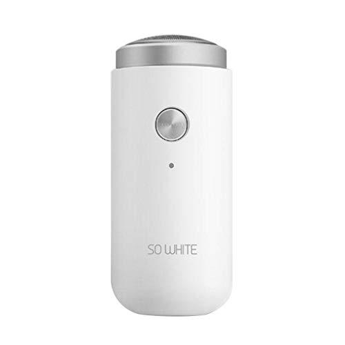 Mini Portable Elektrorasierer, Serria® Herrenrasierer Wasserdicht USB Charge Wet Dry Gebrauch Kompatibel mit Xiaomi Ecosystem Präzisionstrimmer, wiederaufladbarer und kabelloser Rasierer Herren