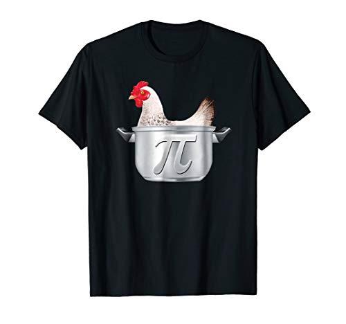 Chicken Pot Pi T-shirt Funny Math Geek Tee