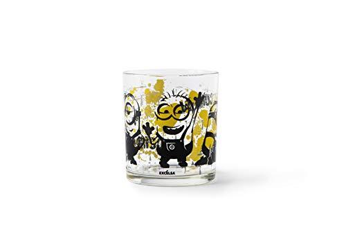 Excelsa Minions - Juego de 3 vasos de agua, de cristal