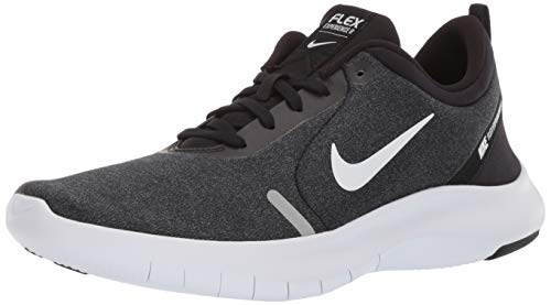 Nike Women's Flex Experience Run 8 Shoe, Black/White-Cool Grey-Reflective Silver, 6 Regular US