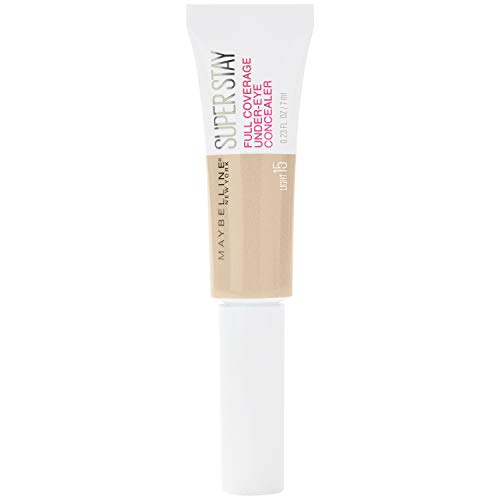 Maybelline New York Super Stay Under-Eye Concealer, 15 Light, 6 ml