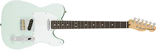Fender American Performer Telecaster Electric Guitar (Satin Sonic Blue, Rosewood Fingerboard)