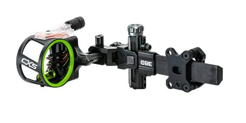 CBE CX5, Carbon Bar 5-Pin Sight.019, Black, Standard