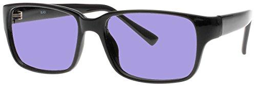 Sodium Flare Polycarbonate Glassworking Safety Glasses - Ergonomic Plastic Frame - 54/38-19-140mm