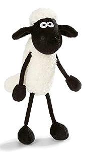 NICI Peluche de la Oveja Shaun 15cm, Color Blanco y Negro (45844)