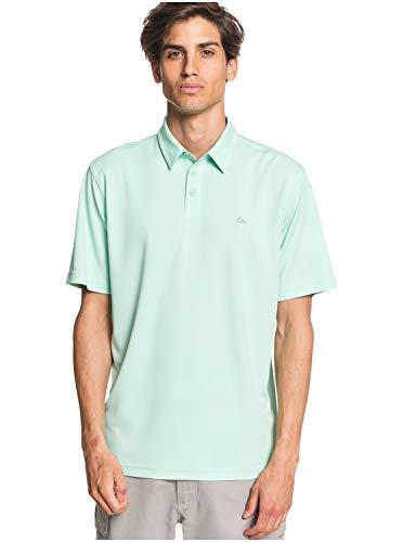 Quiksilver - Camisa Polo de Manga Corta - Hombre - XS - Verde