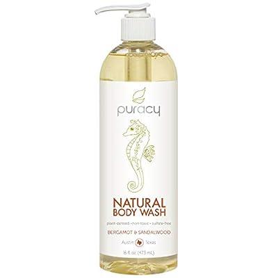 Puracy Natural Body Wash, Hypoallergenic Moisturizing Shower Gel for Men & Women…