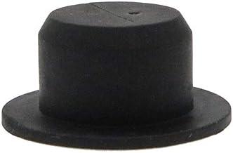 revestimiento de polvo suministros de enmascaramiento Paquete de 50 tapones acanalados de silicona de 2 mm a 4 mm tapones de silicona tap/ón de goma