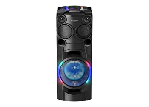 Panasonic SC-TMAX40 Party-/ Karaoke Lautsprecher (Bluetooth, Party Musikanlage, Lichteffekte, Lautsprecher Bass, 1200W) schwarz