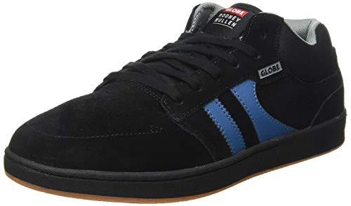 Globe Octave Mid RM, Chaussure de Skate Homme, Black/Grey/Blue, 40.5 EU