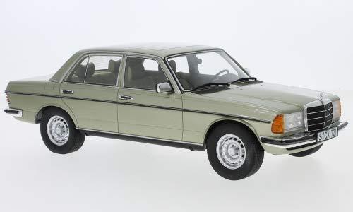 Mercedes 280 E (W123), metallic-hellgrün, 1976, Modellauto, Fertigmodell, Cult Scale Models 1:18