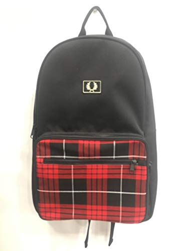Fred Perry Subculture Rucksack Backpack Tartan-Mochilas