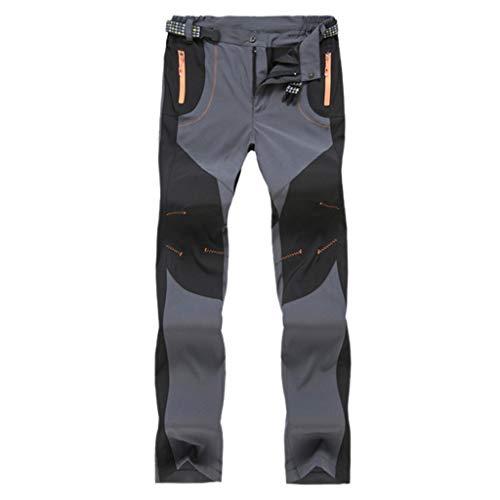 Luckycat Pantalón de chándal Mujeres Pantalones de chándal de Cintura Alta Pantalones Harem con Cremallera Punk Rock Camo Streetwear Pantalones de senderismo antalón Jogger Pantalones de secado rápido