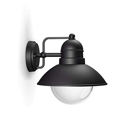 Philips 1723730PN Black Edition Applique Mural Aluminium/Verre Hoverfly