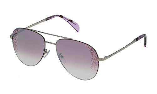 Tous Damen STO361-57579X Sonnenbrille, Grau, 57/16/140