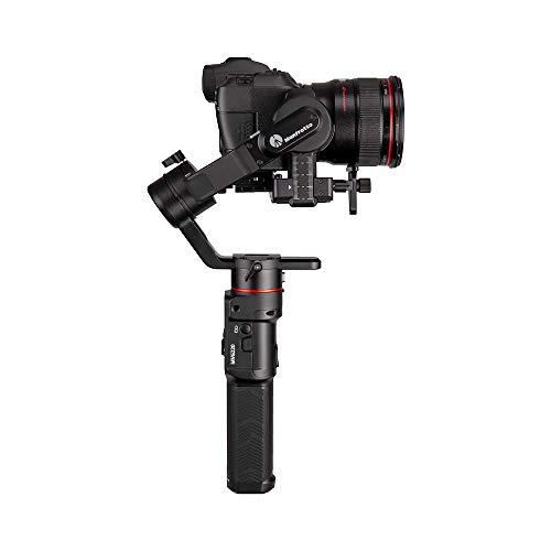 Manfrotto MVG220, Gimbal Portatile Stabilizzata a 3 Assi Professionale per Fotocamere Mirrorless e Reflex, Flessibile, Sostiene Fino a 2,2 kg, Perfetta per Fotografi, Vlogger e Blogger