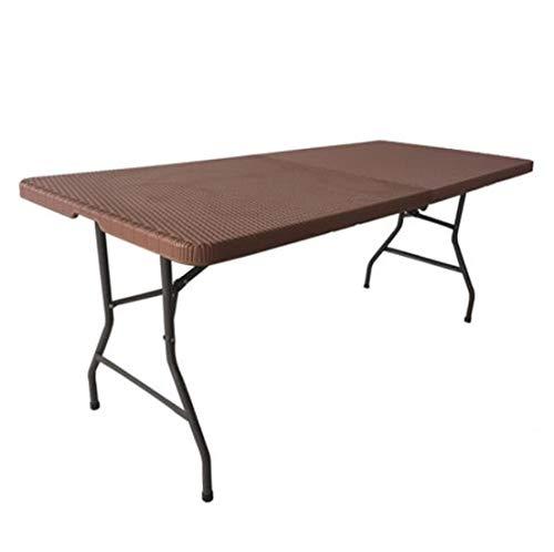 Outdoor klaptafel, draagbare lange tafel, eettafel, trainingvergadering, bubbelvormen, rotan, klaptafel, tafel A
