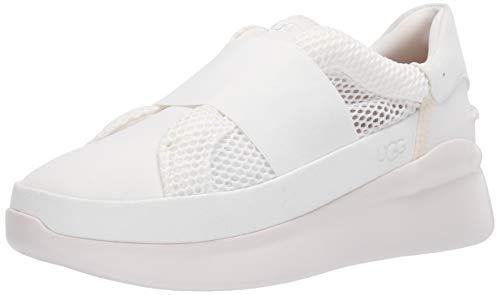 UGG Women's Libu Lite Sneaker, White, 8.5