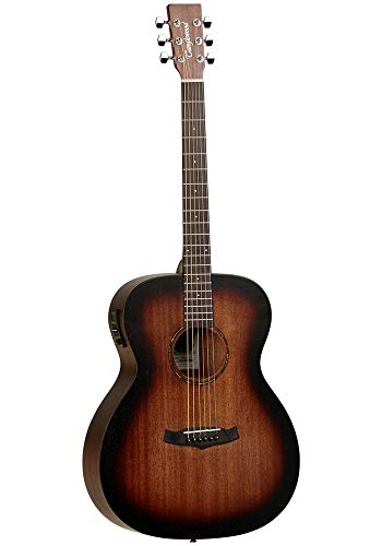 Tanglewood Crossroads TWCR O E Electro Acoustic Guitar in Whiskey Barrel...