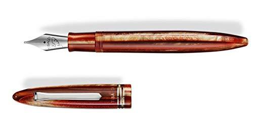 Penna stilografica Tibaldi Bononia Seashell Mist F