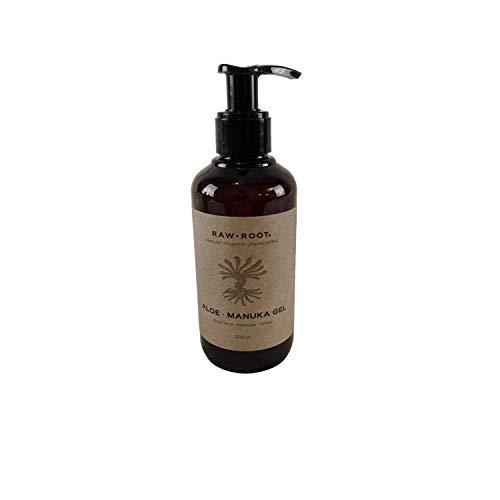 RAW ROOTs Aloe Manuka Gel 200 ml - Luxuriöses Gel für Dreadlocks, krauses Haar und Locken.