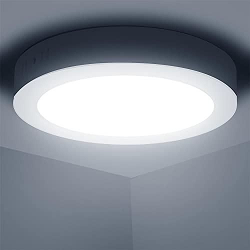 Aigostar Lampada da Soffitto LED Bagno, 18W Equivalente a 162W, alta luminosità,...