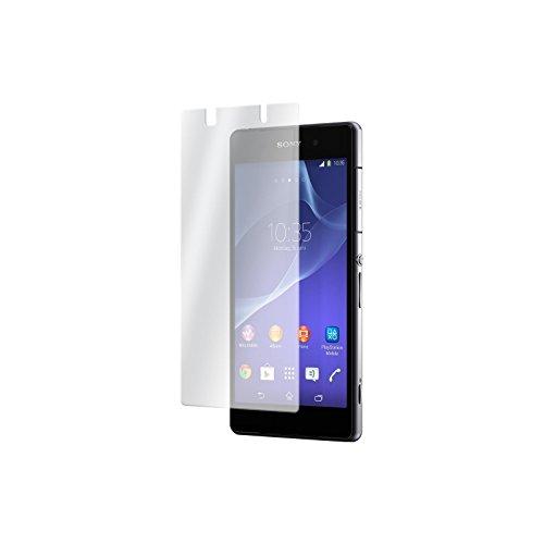 PhoneNatic 2 x Glas-Folie klar kompatibel mit Sony Xperia Z2 - Panzerglas für Xperia Z2