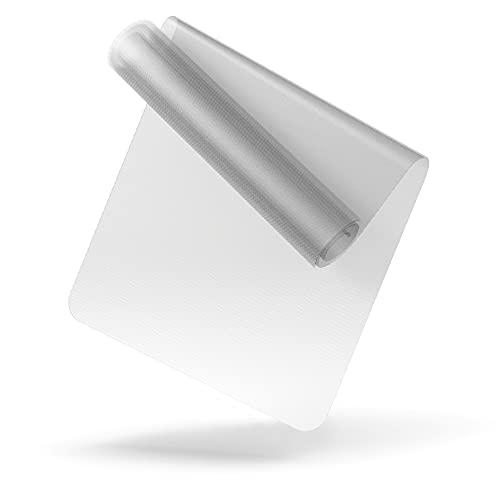 LILENO SPORTS Bodenschutzmatte [90x200 cm] Transparent - Laufband Matte 1 mm Dicke - Fitness Unterlegmatte für Crosstrainer, Rollentrainer und andere Fitnessgeräte - auch als Yoga Matte