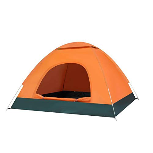 YKHOME Outdoor Zelt 2-3 Personen Wasserdichtes Ultraleichte Kuppelzelt, für Familien Reisen, Strand, Camping und Outdoor,C,200 * 150 * 110cm