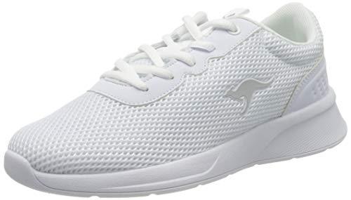 KangaROOS Damen KF-A Deal Sneaker, White 0000, 38 EU