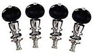 Grover Banjo Tuning Machines Champion STA-TITE Tuners Qty 4 Black Grover 75B