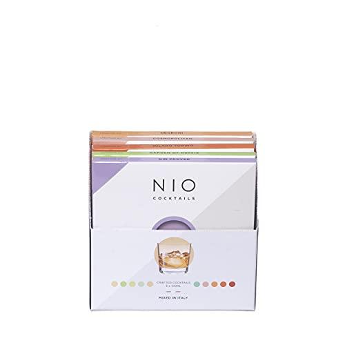 NIO Cocktails - Box Cocktail Aperitivo - 5 drink pronti da bere a domicilio