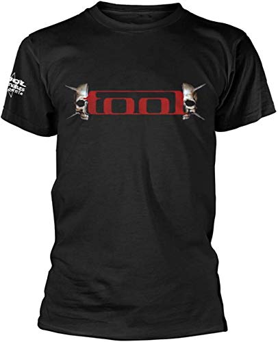Tool 'Skull Spikes' (Black) T-Shirt (x-Large)