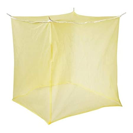 POPULAR Mosquito NET Sandel Single Bed Luxury Feel, Easy to USE 3 * 6 Size, 100% AIR Flow, GET DEEP Sleep, Avoid Annoying Insects.